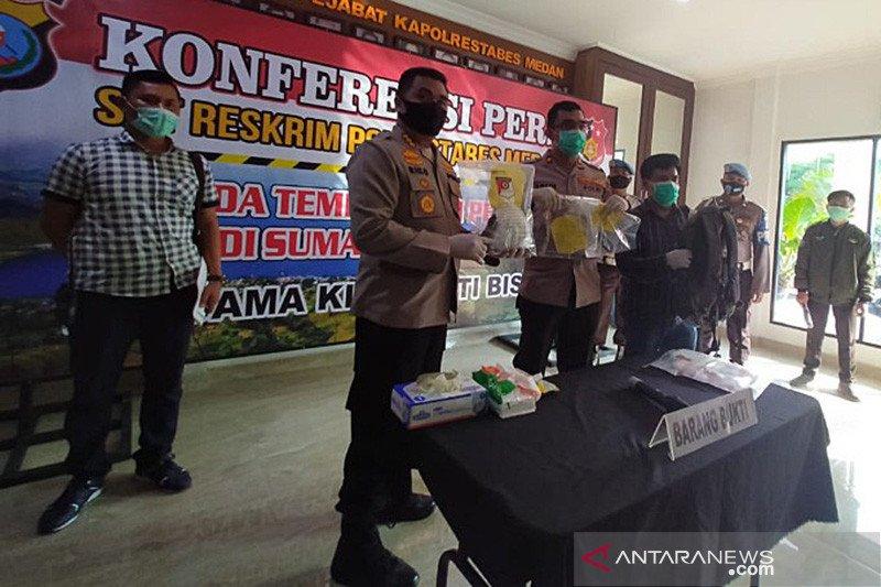 Polisi tembak mati seorang pengedar sabu-sabu di Medan
