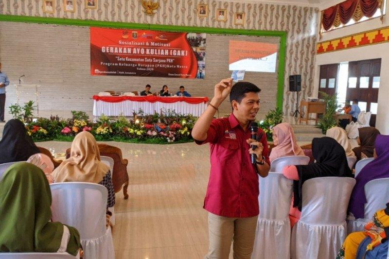 58 anak keluarga penerima manfaat PKH Lampung lolos seleksi PTN