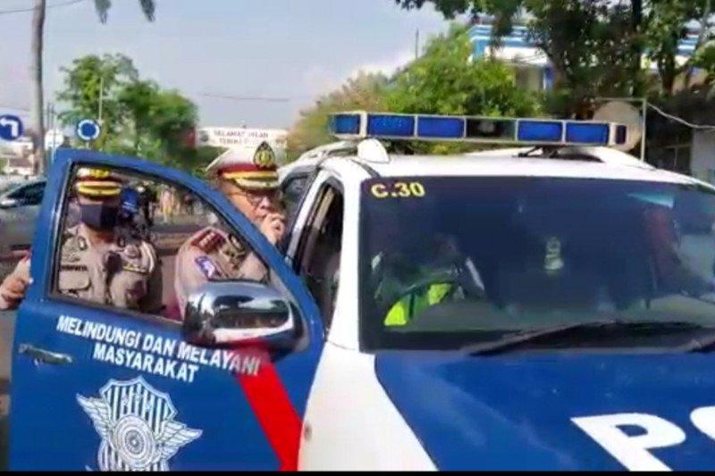 Polisi tilang 4.240 kendaraan di hari keenam Operasi Patuh Jaya 2020
