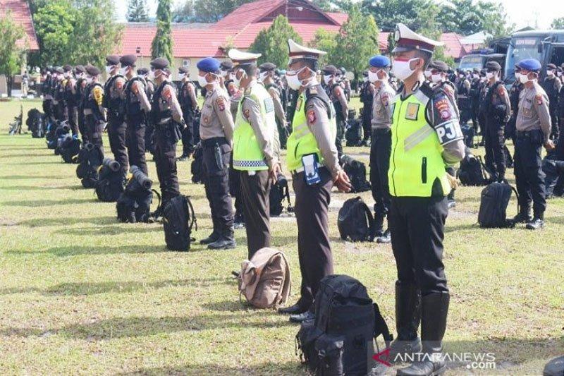 Polda Kalteng kirim 130 personel bantu kawal PSBB Kapuas