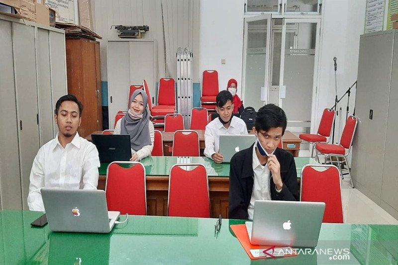Mahasiswa Universitas Nanjing asal Boyolali ikuti ujian skripsi daring