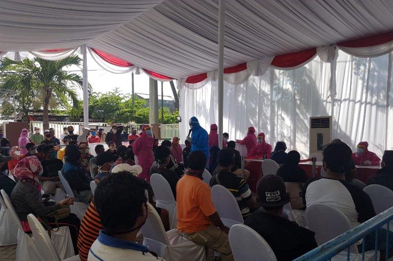 BIN gelar tes swab massal di Gunung Anyar Surabaya