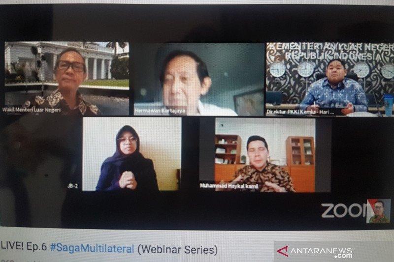 Wamenlu: Indonesia harus mengambil pelajaran dari pandemi