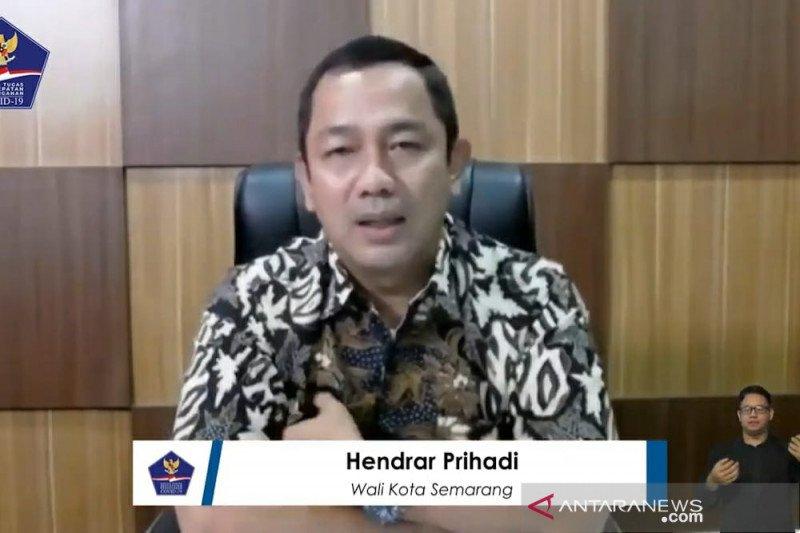 Pemkot Semarang edukasi masyarakat tentang COVID-19 dengan berpatroli