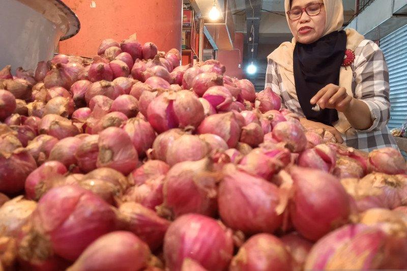 Harga bawang merah di Bengkulu tembus Rp60 ribu/kg