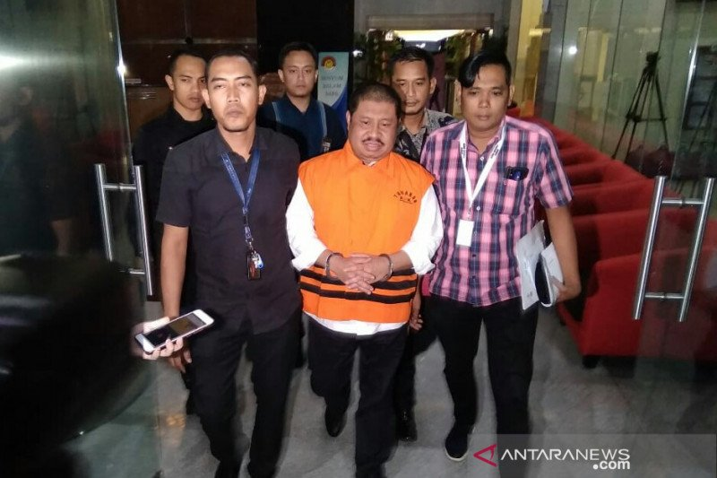 Bupati Bengkalis nonaktif Amril Mukminin segera disidang