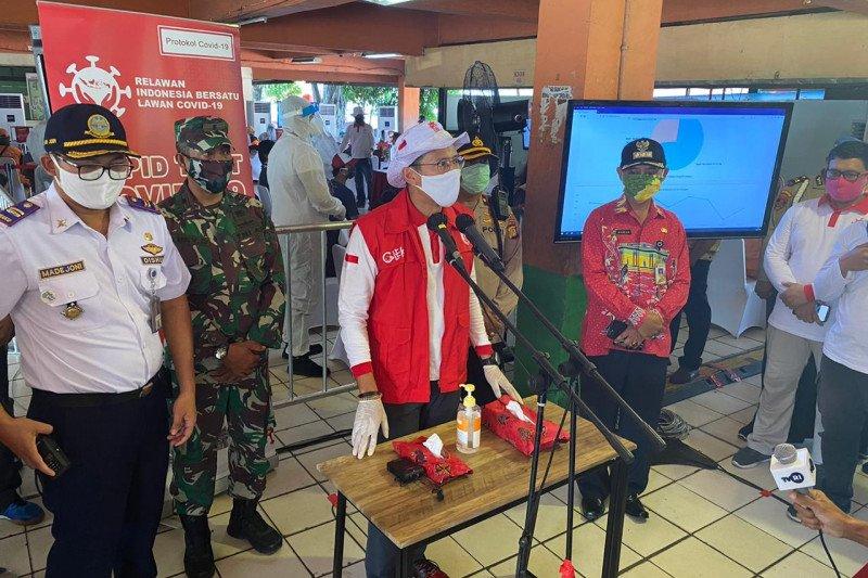 """Rapid test"" COVID-19 Terminal Kampung Rambutan sasar sopir angkutan"