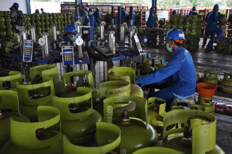 Pertamina siapkan 1,1 juta tabung elpiji hadapi libur panjang