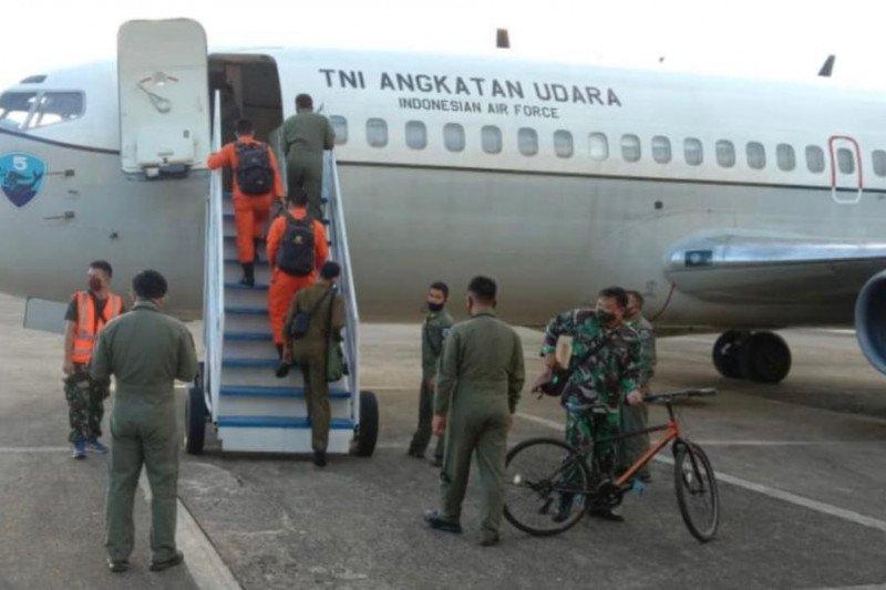 TNI AU-Badan SAR Nasional kerahkan pesawat intai cari kapal hilang