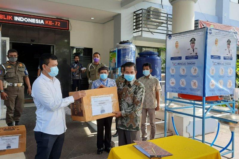 Kemenaker bantu APD untuk penanganan COVID-19 di Serang-Banten