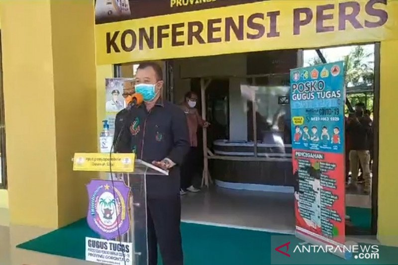 Pasien positif COVID-19 di Gorontalo bertambah tiga