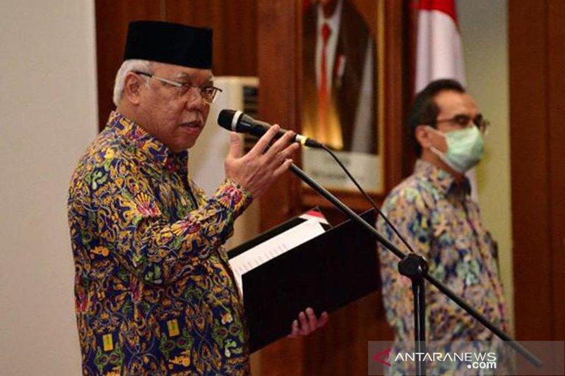 Menteri PUPR minta 2 direktorat baru siapkan SOP dalam 6 bulan