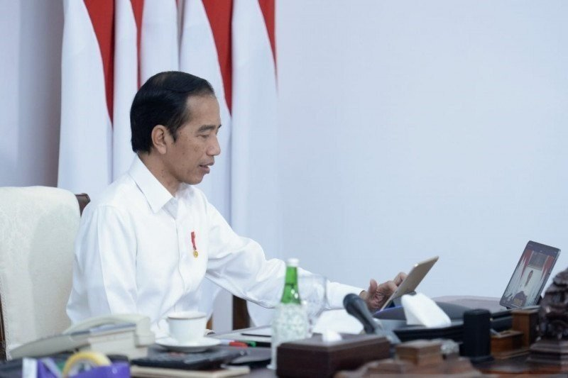 Presiden Jokowi: Membentuk SDM unggul bukan berdasarkan ilmu masa lalu