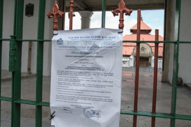 Masjid Gedhe Yogyakarta belum gelar Shalat Jumat