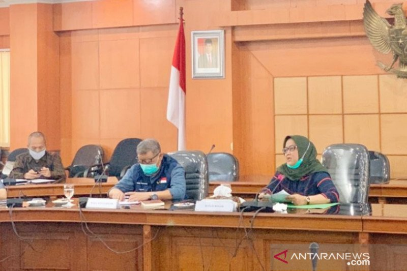 Kabupaten Bogor sisakan lima kecamatan berisiko tinggi COVID-19
