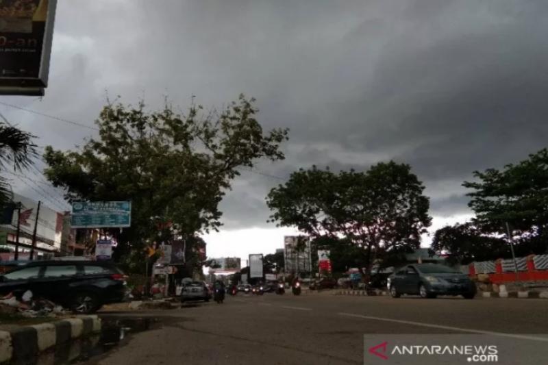 BMKG: Peringatan dini tujuh daerah di Sultra potensi hujan lebat