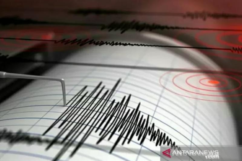 Gempa magnitudo 6,0 di Laut Banda tidak berpotensi tsunami