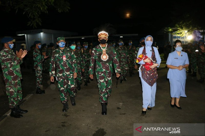 """Lanud Silas Papare gelar """"passing"""" menyambut komandan baru"""