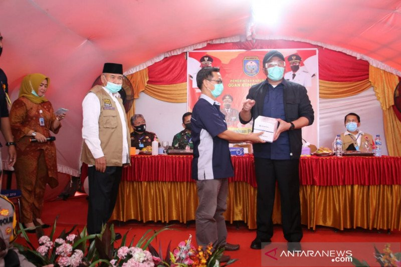 Cegah jurnalis tertular, Gubernur Sumsel bantu alat