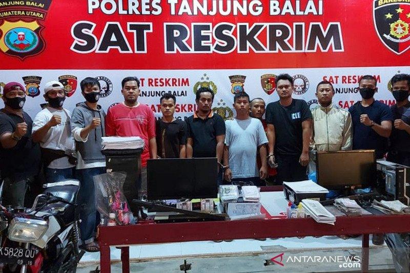 Polres Tanjung Balai bongkar jaringan sindikat pemalsuan STNK