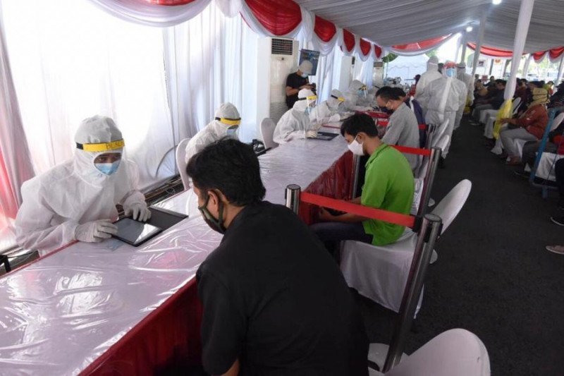 BIN lakukan tes cepat terhadap 12.629 warga di Surabaya dan Sidoarjo