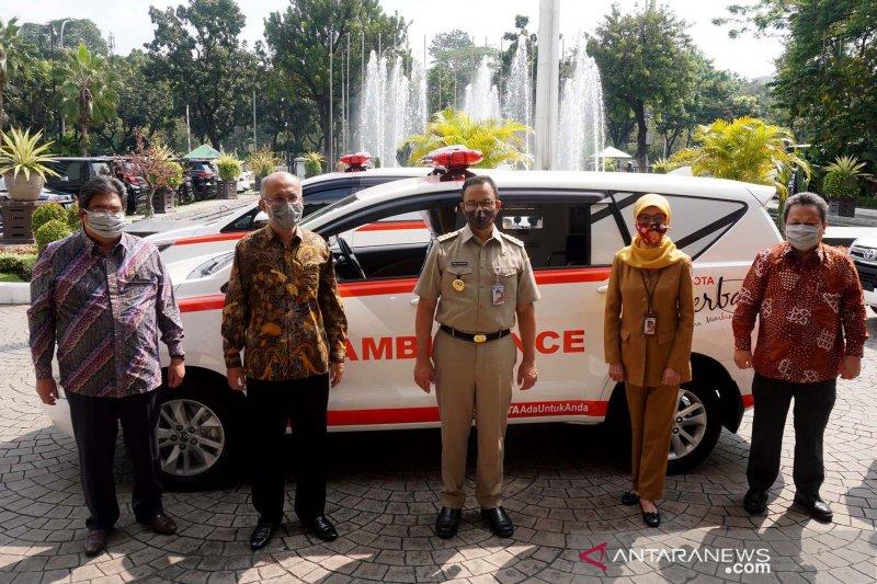 Toyota kirim Kijang Innova ambulans untuk Pemda DKI Jakarta