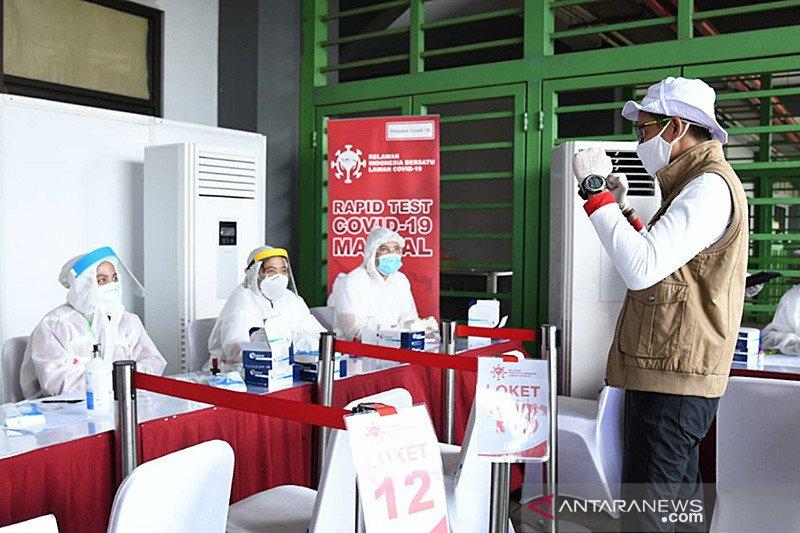 Relawan Indonesia Bersatu gelar tes cepat diikuti ribuan santri Gontor