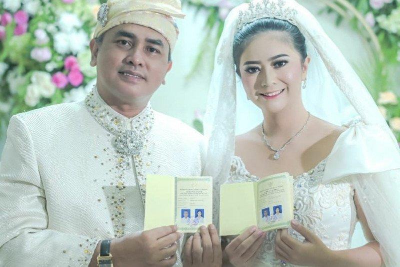 Qory Sandioriva resmi menikah dengan Shah Rei