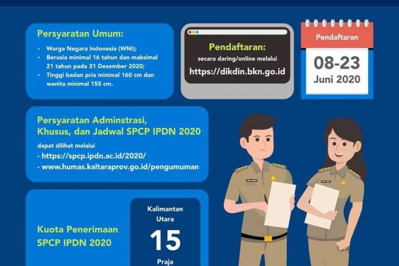 Sudah 28.758 orang yang akan memperebutkan 1.200 formasi IPDN