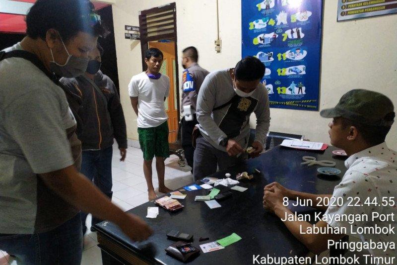 Dua warga Sumbawa diamankan Polsek KP3 Khayangan karena kedapatan bawa sabu