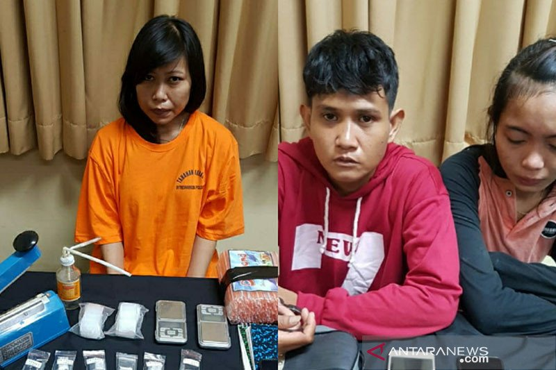 Polisi tangkap tiga perempuan jadi kurir narkoba di Bali