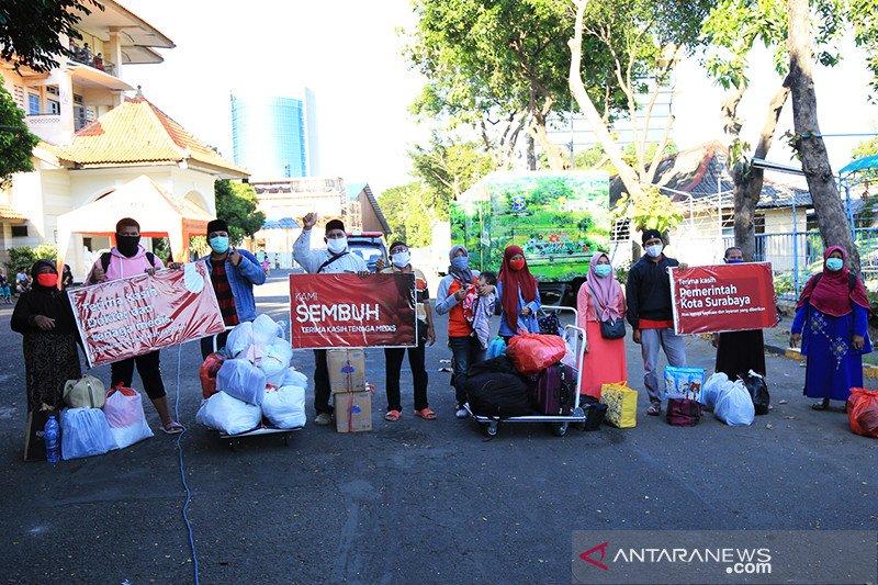 63 kelurahan di Surabaya nol kasus COVID-19