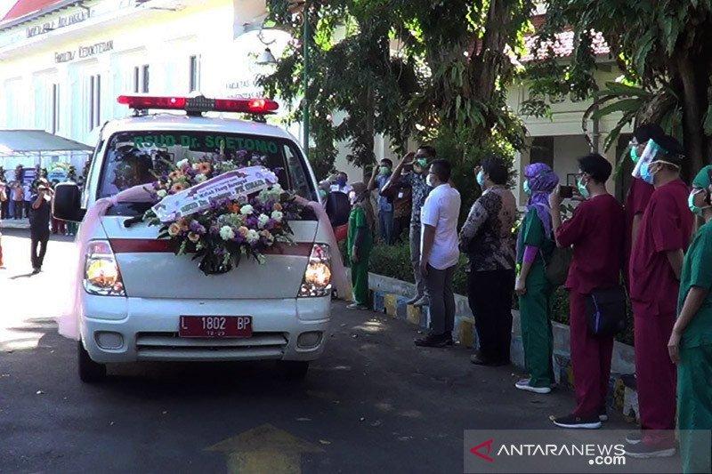 Tujuh orang guru besar diantara 115 dokter meninggal akibat COVID-19