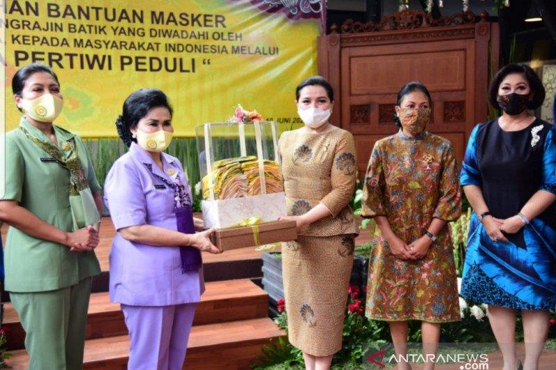 Dharma Pertiwi-Yayasan Batik Indonesia komitmen bantu atasi COVID-19