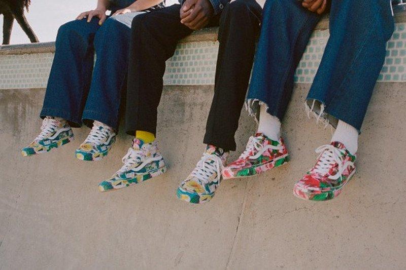 """Kenzo dan Vans hidupkan kembali kolaborasi """"floral sneaker"""""""