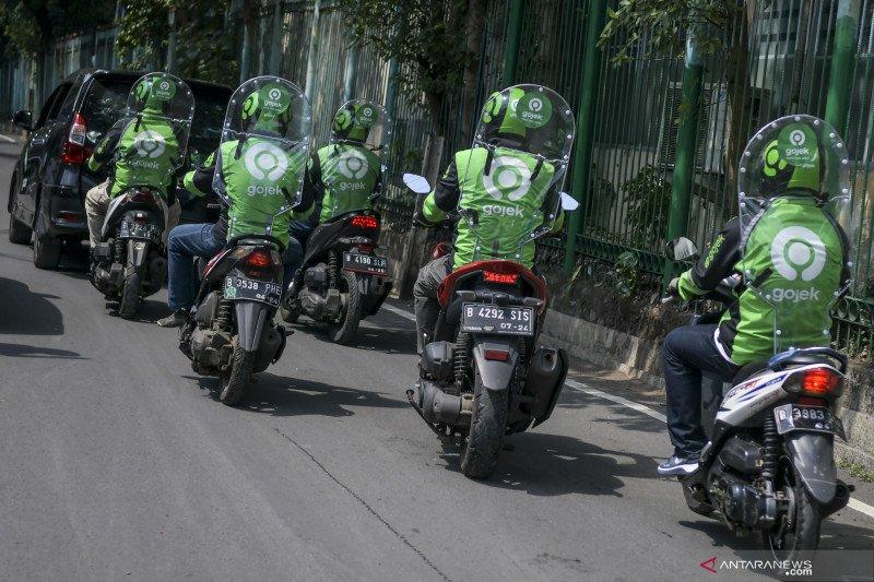 Di Bekasi, ojek online masih dilarang bawa penumpang