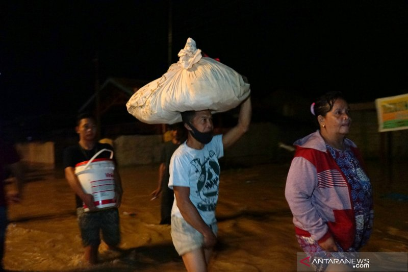 43 desa/kelurahan di Gorontalo dan Bone Bolango terdampak banjir
