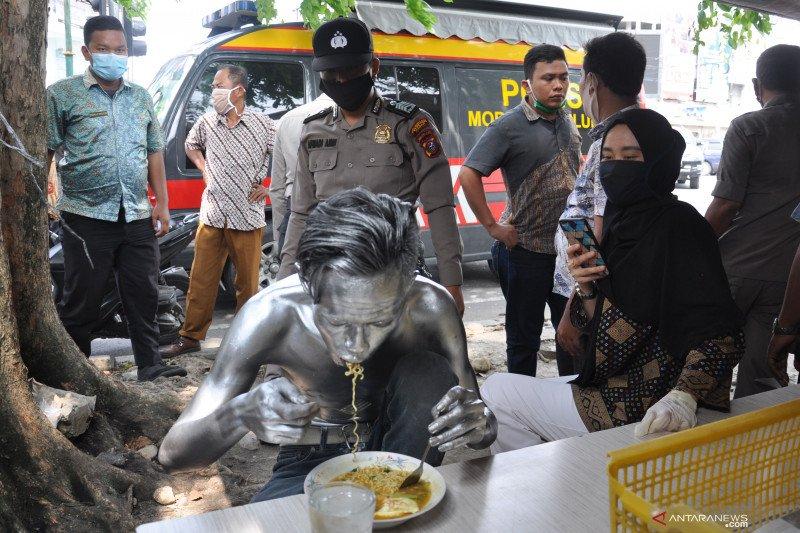 Razia PMKS di kota Medan