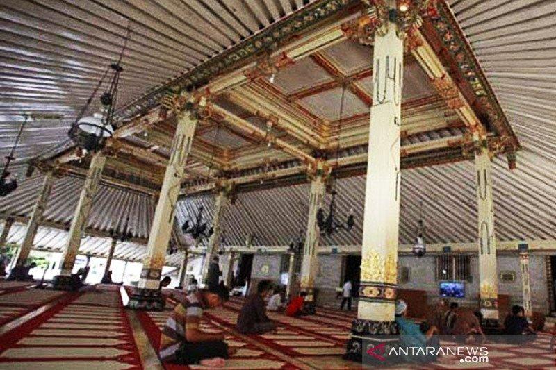 Ada pembatasan, Masjid Gedhe Kauman Yogyakarta uji coba shalat Jumat