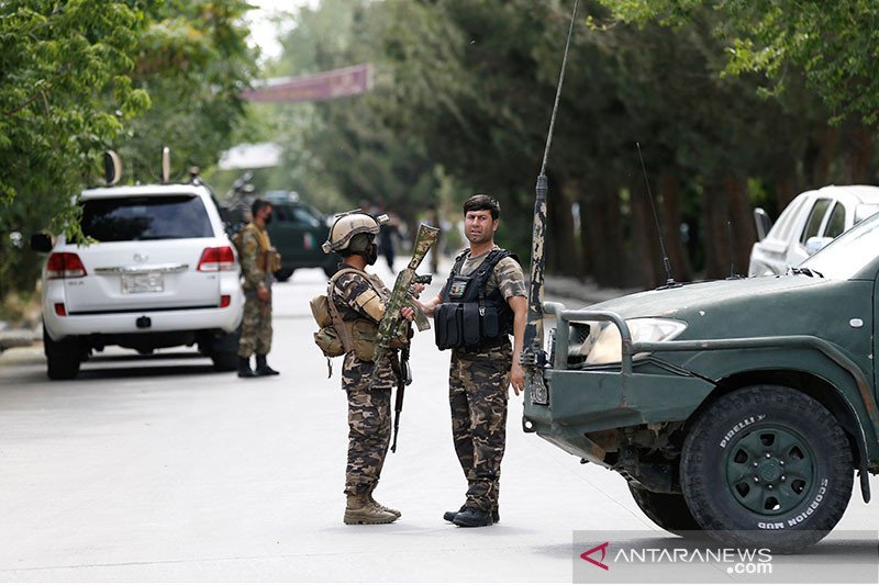 Ledakan saat salat Jumat di masjiid Kabul tewaskan sejumlah orang