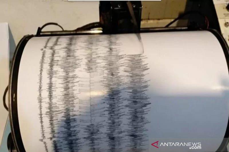 Gempa magnitudo 5,7 di Maluku Utara tidak berpotensi tsunami
