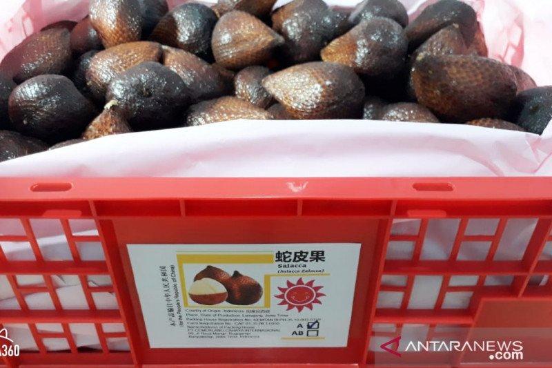 Salak Banyuwangi diekspor perdana ke Hongkong saat pandemi COVID-19