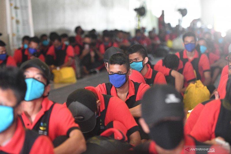Kepulangan TKI ilegal dari Malaysia