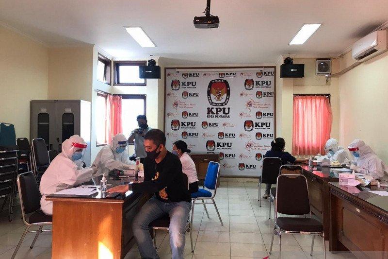 KPU Bali: negatif COVID-19 hasil uji swab staf yang reaktif rapid test