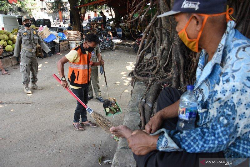 2.000 orang tak pakai masker di Jakpus kena sanksi