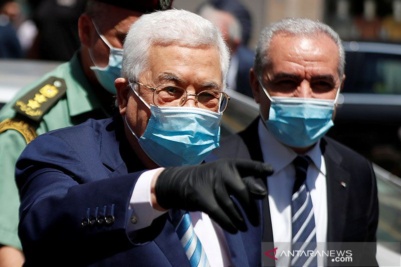 Jelang pemilu Palestina, Abbas hadapi perselisihan partai Fatah
