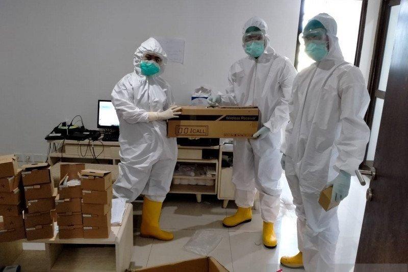 529 pasien positif COVID-19 dirawat di RS Darurat Wisma Atlet