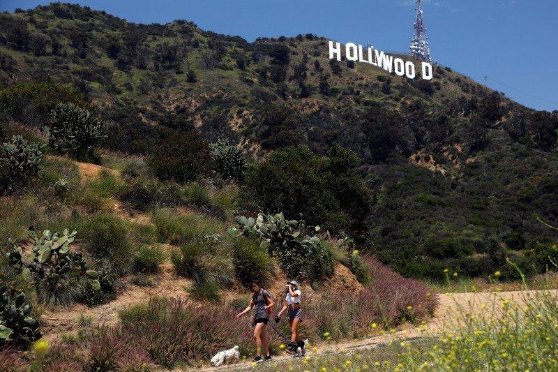 Film Hollywood mulai kembali diproduksi lewat
