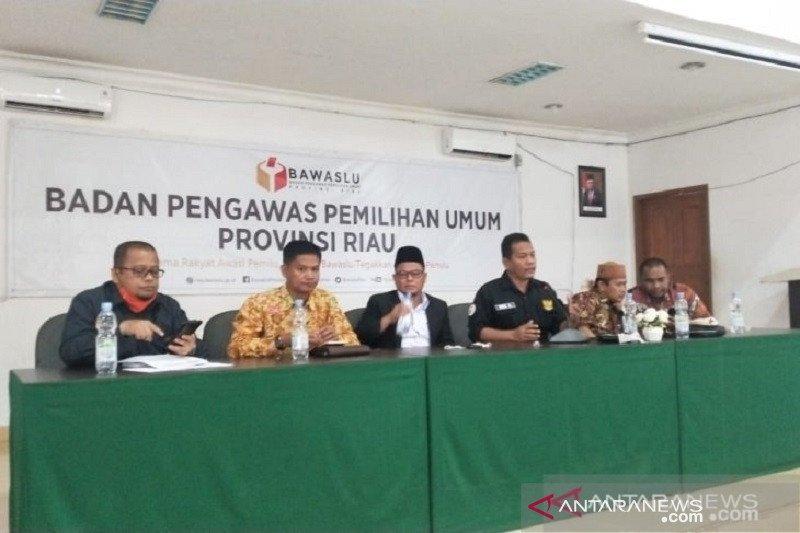 Bawaslu Riau temukan dugaan pelanggaran kode etik ASN jelang pilkada