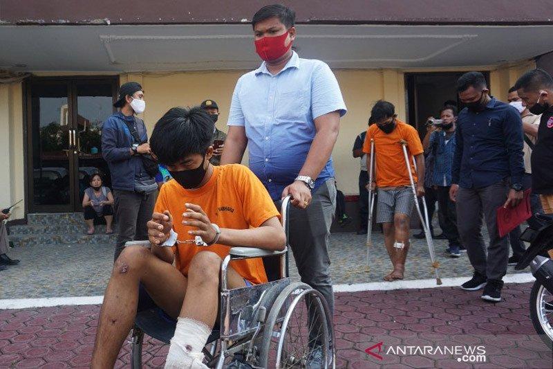 Polisi tembak mati napi asimilasi lakukan penjambretan di Medan